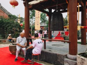 "Festival ""Virtues"" called ""Shanlian"" in the temple Baitusi 白兔寺 7"